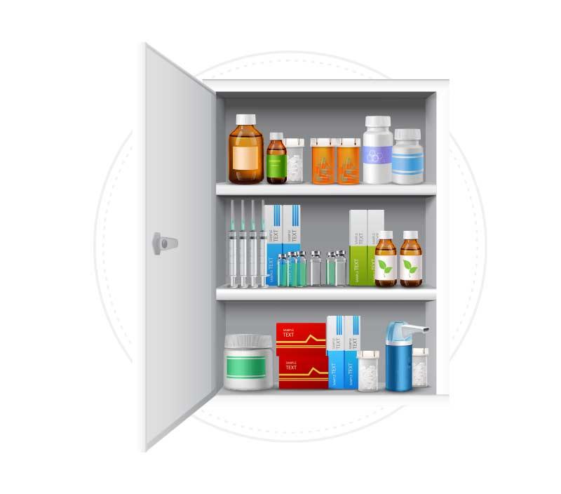 Medicinering